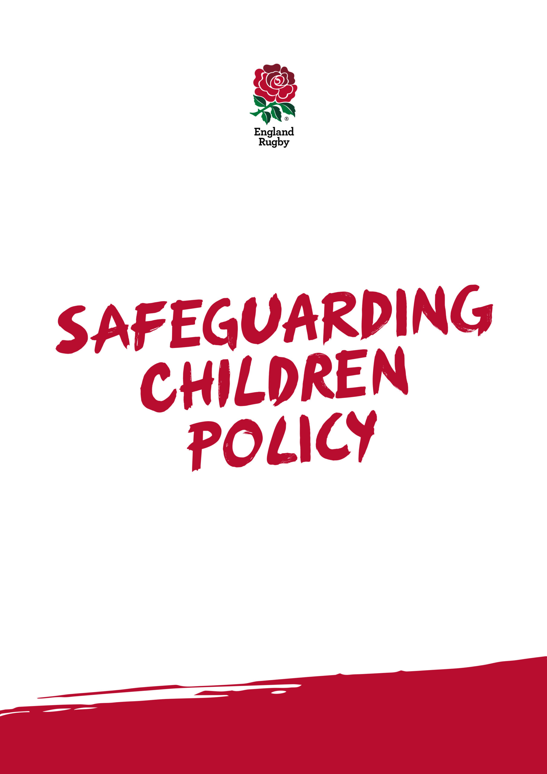 Safeguarding Children Policy Cover